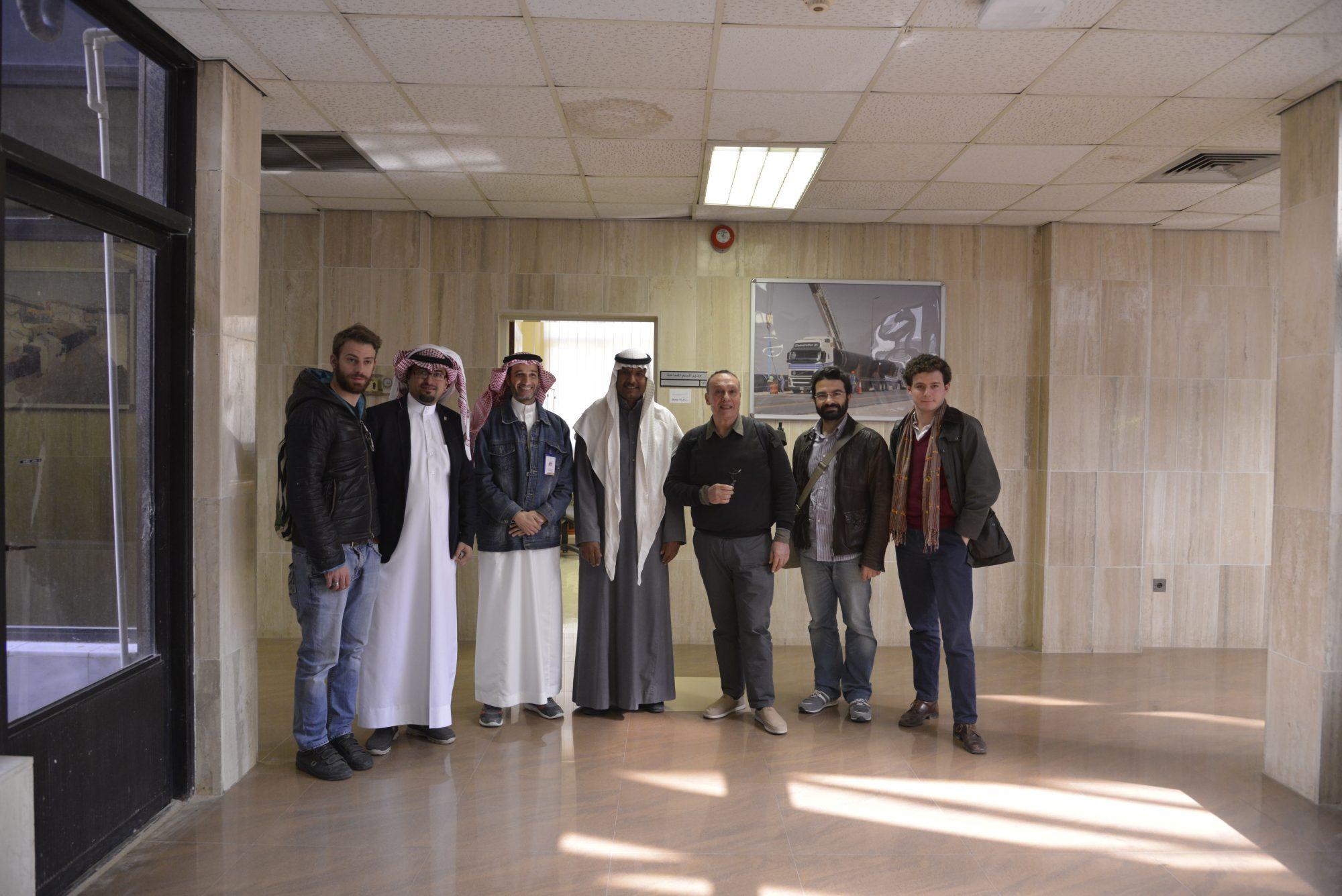 Team Ipogea nei paesi arabi
