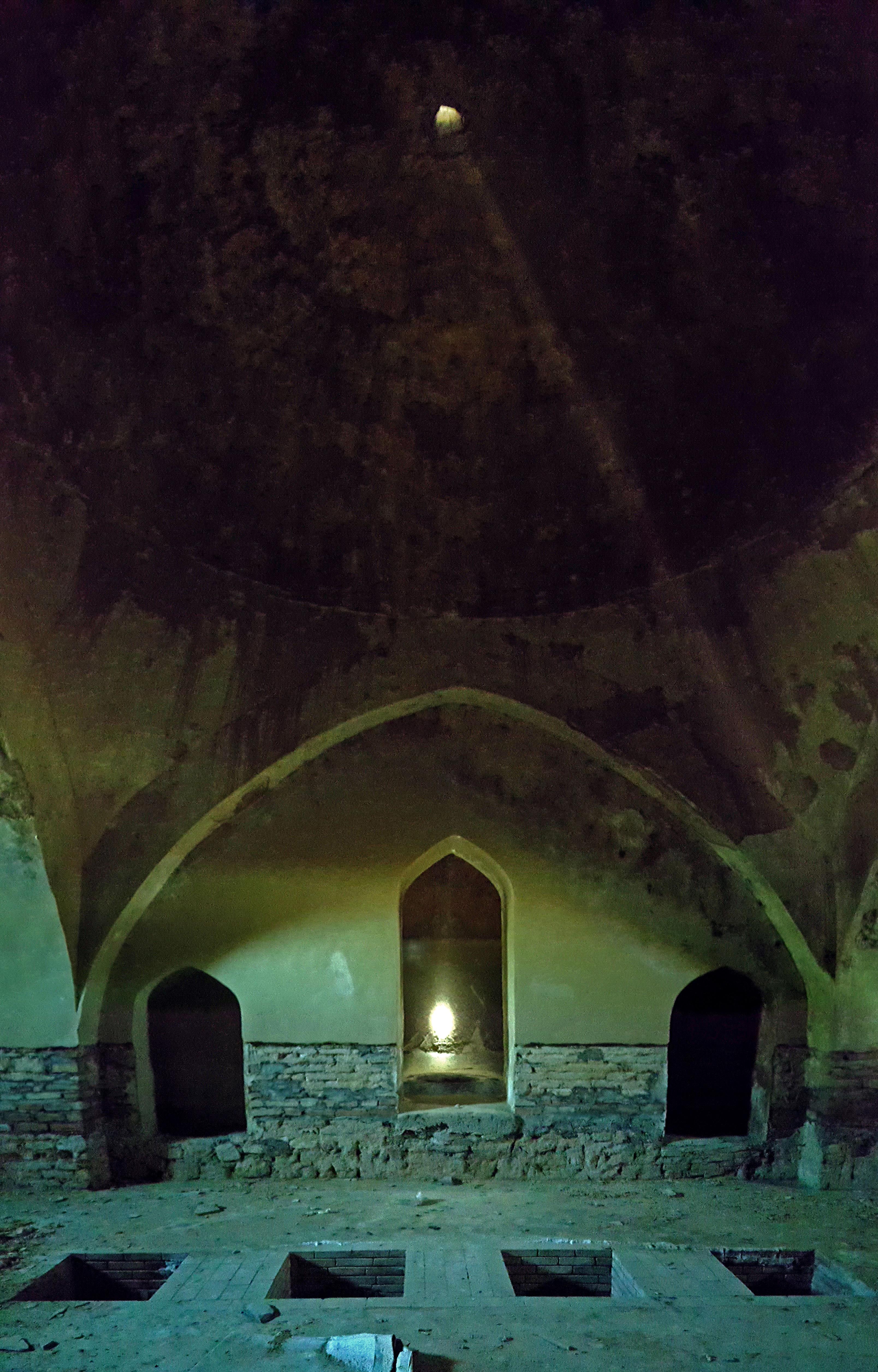 Underground Hamam (Abdulsalam bath-house) a Sheki, Şəki, Azerbaijan, ph. PaN