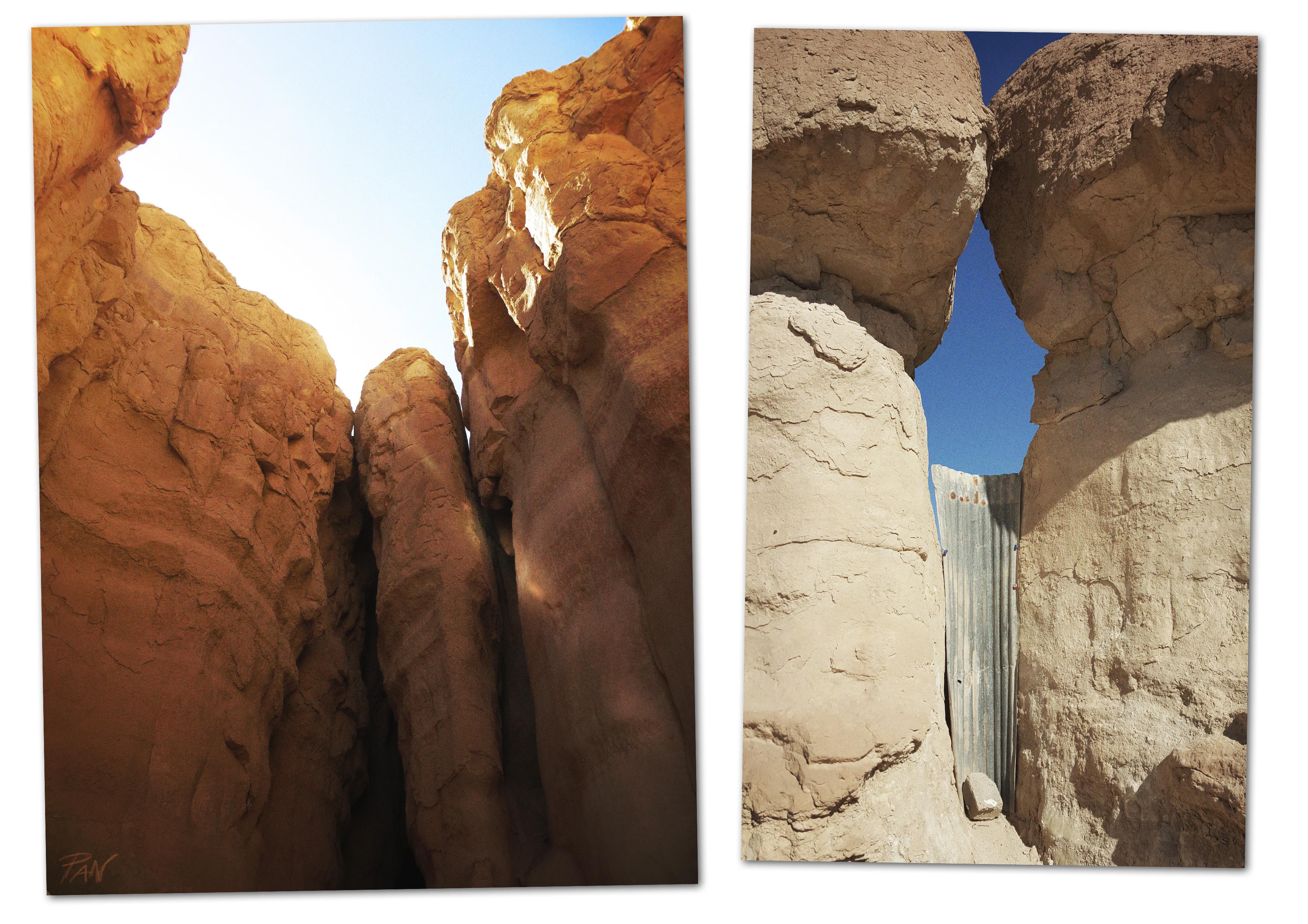 Le forme della natura presso Al Gara Mountain, Al Ahsa, Hufof, ph. PaN