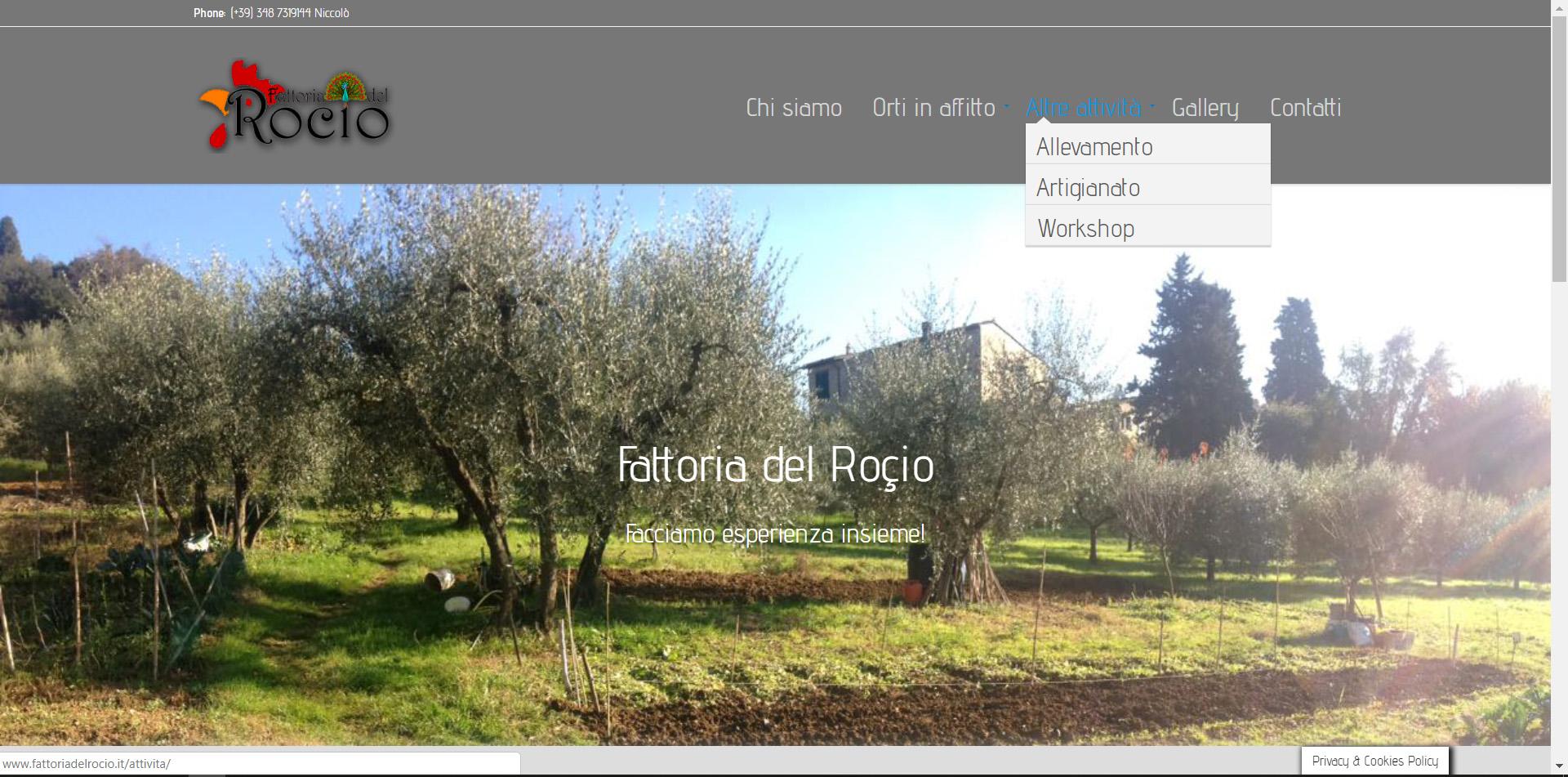 Fattoria del Rocio, orti in affitto, orti urbani, Niccolò Robucci