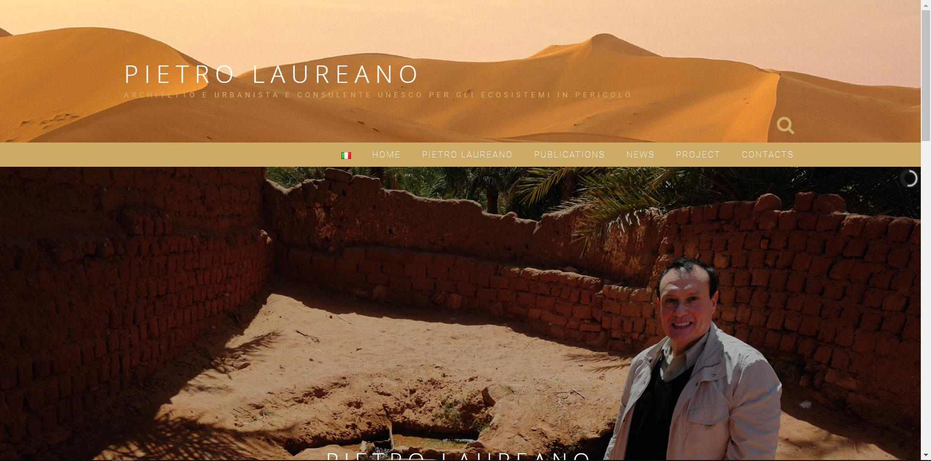Sito personale, Pietro Laureano, Architetto, Urbanista, consulente UNESCO